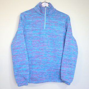 Spyder cotton candy sweater turtleneck zip up